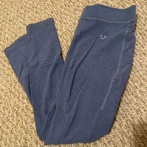 True religion straight leg skinny jeggings pants